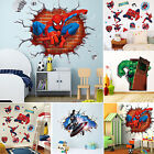 Super Hero  Avengers Mural Vinyl Wall Decal Stickers Kids Nu