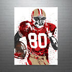 Jerry Rice San Francisco 49ers Poster FREE US SHIPPING $15.0 USD on eBay