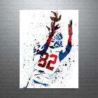 Mario Manningham New York Giants Poster FREE US SHIPPING $15.0 USD on eBay