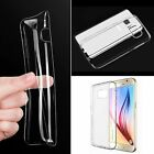 Ultra thin Transparent Clear TPU Silicone Soft Case Gel Cover For Samsung Galaxy