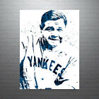 Babe+Ruth+New+York+Yankees+Poster+FREE+US+SHIPPING