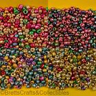#10/0 - Metallic Glass Seed Beads - 40 grams per Bag - Buy 3 bags get 2 FREE