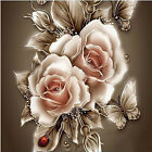 5D DIY Diamond Painting Rose Flower Cross Stitch Rhinestone Wall Art Home Decor❤
