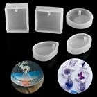 Crystal Silicone Mould for DIY Resin Necklace Pendant Jewellery Making Mold Tool