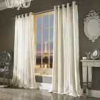 Iliana Curtains by Kylie Minogue, Oyster Velvet curtains, 66 & 90 inch wide, ...