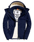 Neue Herren Superdry Sherpa Windcheater-Jacke mit Kapuze Nautical Navy