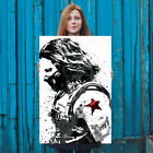 Civil War Winter Soldier The Avengers Poster FREE US SHIPPING