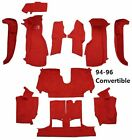 1994 - 1996 Corvette Carpet Set. Correct Color TruVette Carpet with Mass Back