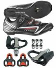Venzo Road Bike Cycling Shoes Pedals Cleats For Shimano SPD SL Look