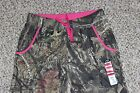 NEW Womens MOSSY OAK Break-Up Country Camo Sweatpants Pink S M L XL 2XL Ladies