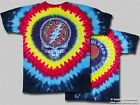"Grateful Dead ""Raindrops"" Double Sided Tie-Dye T-Shirt - FREE SHIPPING"