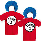 ADULTS MENS LADIES UNISEX THING 1 2 FANCY DRESS COSTUME BOOK DAY S-XL YEARS