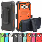 Outer Box Hybrid Hard Clip Holster Case Cover for Samsung Galaxy J7 J700 2015