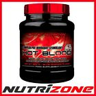 SCITEC NUTRITION Hot Blood 3.0 Pre Workout Creatin Amino Acids AAKG Taurine VitB