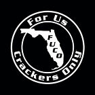 Florida Cracker Decal,Cracker sticker,redneck decal,cowboy,horse fuco f.u.c.o.