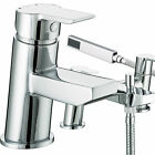 BRISTAN PISA TAPS BASIN MIXER BATH SHOWER FILLER CHROME MONO BATHROOM SET