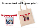 Nanny or Nanna shopping bag. Personalised photo bag. Mothers Day Gift, Birthday