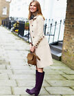 BODEN Cream Military Moleskin Coat UK 16 Regular Brand New £119