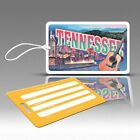 TagCrazy Luggage Tags, Tennessee Americana Design, Durable Plastic Loops-1 Pk