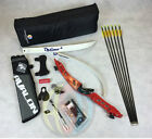 """Red 66"""" Core Archery Pro Take Down Recurve Bow & Complete Package"""