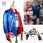 2017 Comics Harley Quinn Suicide Squad cosplay Costume Party Dress Halloween NEW