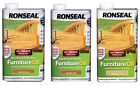 Ronseal Ultimate Protection Hardwood Furniture Oil 1L in Various Colours