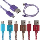 1 M 2.4A Micro USB 2.0 Fast Quick Charge Data Charging Cable for Android Samsung