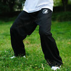 Внешний вид -  China Tai chi Kung Fu Martial Art Trousers Wingchun Training Pants Black Cotton