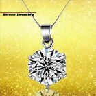 CZ Zirconia Jewelry (Silver925) Very Beautiful Gorgeous Necklace Cute Gift Mom