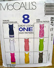 McCall's 8247 Misses Petite-able Dress 8 Great Looks 1 Easy Pattern MANY SIZES