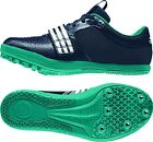 new womens 10 adidas lady jumpstar allround track/field spikes/cleats af5621