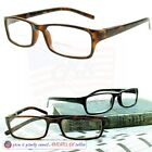 BIFOCAL READING GLASSES MEN'S Readers 1.25~3.50 Durable Quality SPRING HINGES