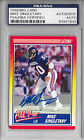 MIKE SINGLETARY Signed 1990 SCORE Chicago BEARS Pro Bowl CARD #570 Baylor PSA