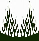 #66 FLAME HOOD DECAL VINYL GRAPHIC CAR TRUCK AUTO SUV VAN  SEMI CROSS OVER BLAZE
