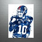Eli Manning New York Giants Poster FREE US SHIPPING $15.0 USD on eBay