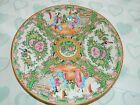 Chinese famille rose madallion plate 20th c