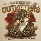 DIXIE OUTFITTERS DON'T TREAD ON ME RATTLESNAKE  SHIRT #7115