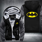 Batman warm Thicken Hoodie Jacket Cosplay Sweater fleece coat clothing Free Ship