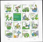 US Stamps #4524 - 2011 -  Go Green - full pane of 16   - B6467