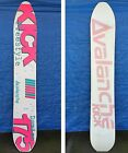 Vintage Avalanche Kick 175 Damian Sanders Freestyle Snowboard Rare Collectable