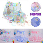 2017 Foldable Portable Baby Mosquito Insect Cradle Bed Netting Canopy Cushion