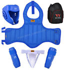 WESING Sanda Fight MuayThai Boxing MMA Combat Guard Protector Martial Arts Gear