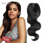7A 100% Indian Remy Human Hair Top Lace Front Closure V-Part Body Wave Grade US