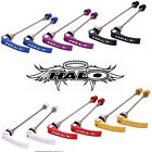 Halo Porkies Mountain BIke Front and Rear QR Skewer Set - Various Colours