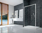 MERLYN IONIC ESSENCE FRAMED SLIDING DOOR SHOWER 8mm GLASS ENCLOSURE BATHROOM NEW
