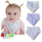 Baby Toddler Girl Kids Bibs Feeding Infant Cotton Scarf Dribble Triangle Bandana