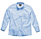 Mens Oxford Weave Long Sleeve Shirt Various Size SH64200