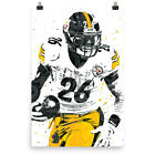 Le'Veon Bell Pittsburgh Steelers Poster FREE US SHIPPING