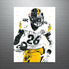 Le'Veon Bell Pittsburgh Steelers Poster FREE US SHIPPING $14.99 USD on eBay