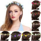 Boho Style Chic Floral Flower Rose Hair Wreaths Headband Hair Band Party Wedding